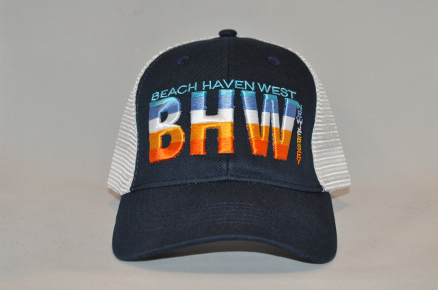 Beach Haven West snapback cap